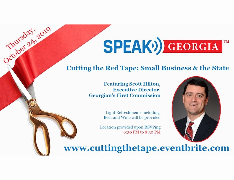 Speak_Georgia_Cutting the Red Tape Small Business and the State
